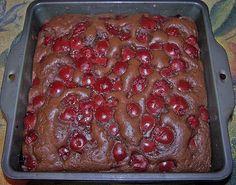 Schneller Schoko-Kirsch-Blechkuchen 32