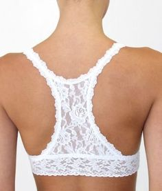 A bra that looks like a tank top in the back for those shirts you don't want your bra to show through. Genius.