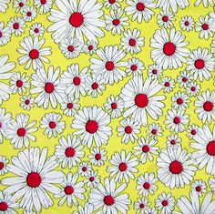 Daisy fabric... made a dress from this in 9th grade.