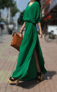 This is one favorite dress, but for a date late into the evening..............................