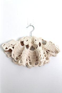 Crochet Doily Country Handmade Doily Shabby by creativecarmelina