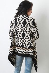 Tribal Power Cardigan