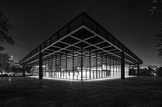 Neue Nationalgalerie : New National Gallery, Berlin Germany (1962-1968) | Ludwig Mies van der Rohe | Photo : manuela.martin