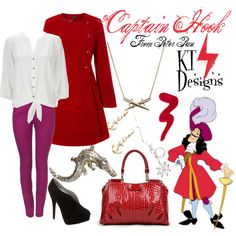 """Captain Hook from Peter Pan"" by ktdesigns-1 on Polyvore"