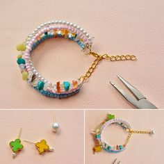 How do you think of this charm bracelet, LC.Pandahall.com will publish the tutorial soon.