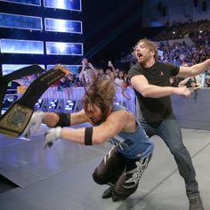 SmackDown 10/4/16: John Cena, Dean Ambrose and AJ Styles come face to face to face