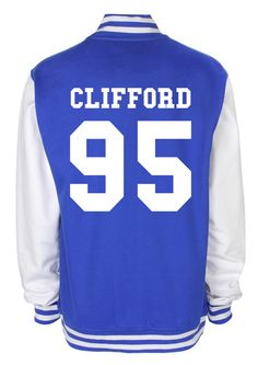 MICHAEL CLIFFORD 5 Seconds of Summer fashion teenage indie dope swag tumblr back and front print baseball american Varsity Jacket by MrHydesToyBox on Etsy https://www.etsy.com/listing/197421905/michael-clifford-5-seconds-of-summer