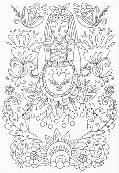 advanced mandala marvelous adults coloring pages printable and coloring book to print for free. Find more coloring pages online for kids and adults of advanced mandala marvelous adults coloring pages to print. Pattern Coloring Pages, Coloring Pages To Print, Coloring Book Pages, Coloring Sheets, Folk Embroidery, Learn Embroidery, Embroidery Stitches, Embroidery Patterns, Hungarian Embroidery