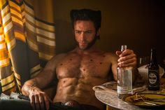 Wolverine Workout Routine Slideshow
