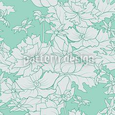 Floral Vintage Ornament, high-quality Vector Pattern at patterndesigns.com, designed by Viktoryia Yakubouskaya