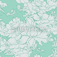 Floral Vintage Ornament, high-quality Vector Pattern at patterndesigns.com, designed by Viktoryia Yakubouskaya
