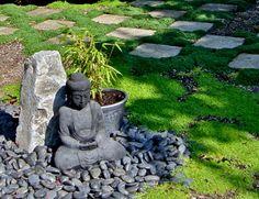 mini jardin japonais, déco zen originale