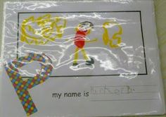 The Very Busy Kindergarten: Beginning of the Year. My name is ____________.  Book