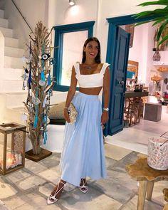 Best Skirt Outfits Part 11 Mode Outfits, Skirt Outfits, Fashion Outfits, Womens Fashion, Fashion Fashion, Denim Dresses, Beachwear Fashion, Europe Fashion, Sweater Dresses