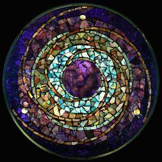Plum Planet | by artglassmosaics