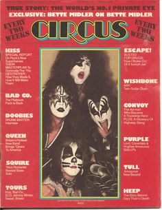 Circus Magazine - April 8, 1975 - KISS