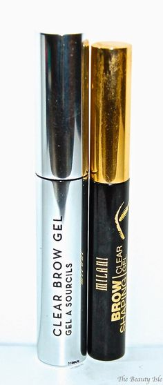 Anastasia Beverly Hill Clear Brow Gel, Milani Clear Brow Gel #ProductReviewParty #Bblogger