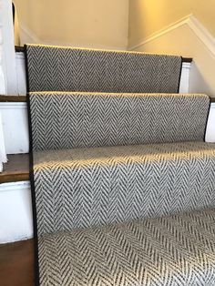 90 Best Herringbone Carpet Lovin Images Carpet Stair Runner   Grey Herringbone Carpet Stairs   Living Room   Flat Weave   Hartley   Patterned   Modern