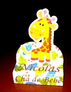 Caixa Bis Duplo - Safari - Girafa