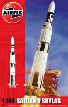 Airfix - Saturn Skylab - The old Saturn V with additional parts