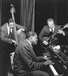 Oscar Peterson Trio with Ray Brown (Bass) and Herb Ellis (Guitar)