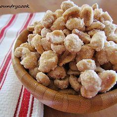 SUPER BOWL APPETIZER ~ Sugared Peanuts
