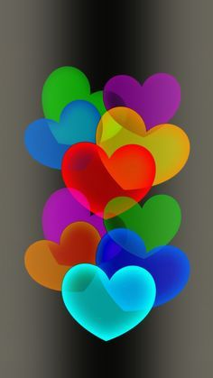 heart multi Wallpaper by dathys - - Free on ZEDGE™ now. Browse millions of popular coeur Wallpapers and Ringtones on Zedge and personalize your phone to suit you. Browse our content now and free your phone Heart Wallpaper, Love Wallpaper, Colorful Wallpaper, Cellphone Wallpaper, Wallpaper Backgrounds, Iphone Wallpaper, Nature Wallpaper, Screen Wallpaper, Heart Images