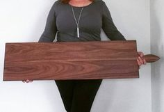42 Inch Extra Large Serving Platter Cheese Board in Oak by
