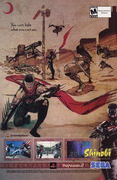 One strange trick to turn you into a ninja (2002). #Sega #bitstory