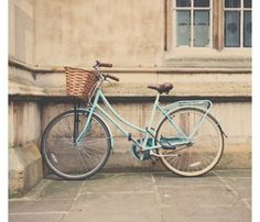 Mint Green Bike//