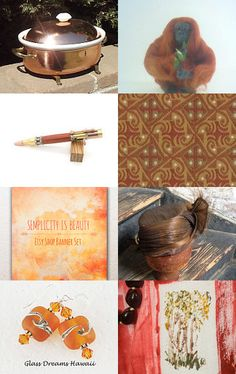 Coppery by Suzanne Edwards on Etsy--Pinned with TreasuryPin.com #integritytt