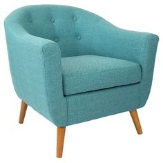 LumiSource Rockwell Accent Chair - Teal