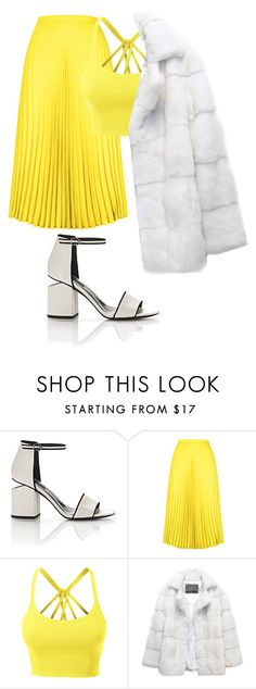 """""""Untitled #41"""" by notosuper on Polyvore featuring Alexander Wang, HotSquash, LE3NO and Lilly e Violetta"""