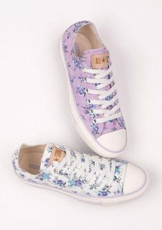 Floral Converse All Star Shoes
