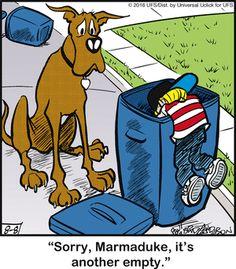 Marmaduke Comic Strip, August 08, 2016     on GoComics.com