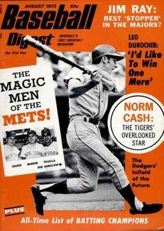 Baseball Digest - August 1972