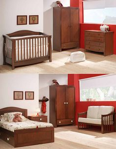 Cuna transformable. Modelo classic (Cotinfant) Girl Room, Baby Room, Baby Bedding Sets, Kids Decor, Home Decor, Baby Furniture, Baby Pictures, Kids And Parenting, My Dream Home