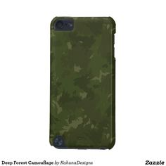Deep Forest Camouflage iPod Touch (5th Generation) Cover