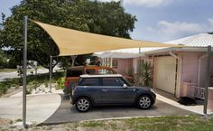 Shade Sail Structure In UAE