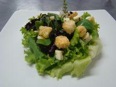 Aula Saladas - Salada crocante