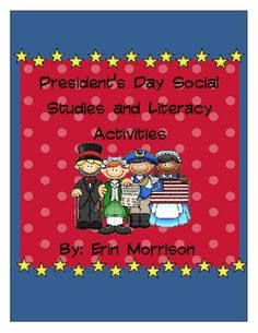 Everything you need to teach your students about President's Day! These activities can also be used when teaching about US History, presidents, and monuments!