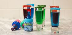 Baby Bottle Pop Shots Turn Your Fave Middle School Candy Into the Perfect Pregame Drink - Cosmopolitan.com
