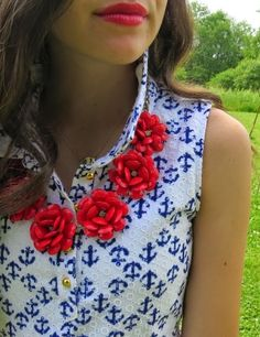 Another great 4th of July outfit from Belleoftheball45!