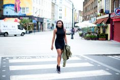 BLACK DRESS & A VESPA