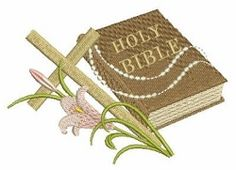 Holy Bible 4 - 4x4 | Religious | Machine Embroidery Designs | SWAKembroidery.com Ace Points Embroidery