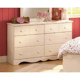 Found it at Wayfair - Summer Breeze White Wash Double 6-Drawer Dresser