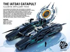 IAT3A1 Catapult Illusive Artillery Tank by Duskie360