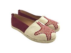 """Εσπαντρίγιες """"Starfish""""     Κωδ. 222063-F55S Women's Espadrilles, Starfish, Suede Leather, Coding, Fabric, Handmade, Shopping, Shoes, Fashion"""
