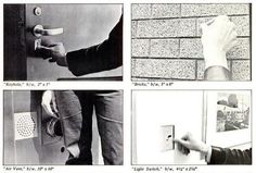 """Na década de 70, o artista Harvey Stromberg pregou uma pegadinha no MOMA, o Museu de Arte Moderna de Nova York e um dos mais respeitados do mundo. Durante várias semanas, ele frequentou o local e tirou fotos de tudo: fechaduras, interruptores, saídas de ar, parede, chão e por aí vai. Depois, Stromberg imprimiu tudo em tamanho real e usou um papel adesivo para espalhar sua arte fotográfica por vários corredores do MOMA. Algumas de suas peças ficaram """"expostas"""" por até 2 anos antes de se darem…"""
