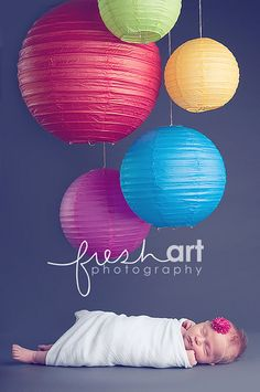 Fresh Art Photography- These would be cute for a first birthday cake smash...